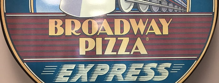 Broadway Pizza is one of Tc.