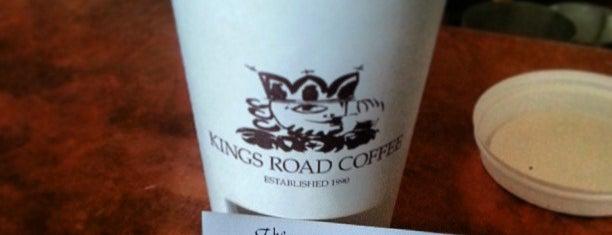 Kings Road Cafe is one of My Favorite Coffee in Los Angeles.