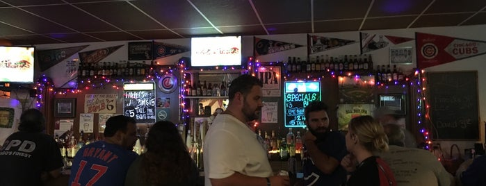 Wrigleyville North is one of Brian's Favorite Dive Bars.