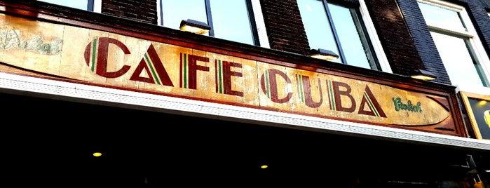 Café Cuba is one of 020 cafeetjes.