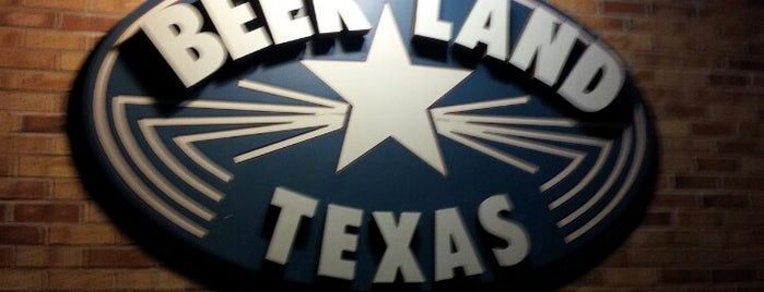 Beerland is one of Pinball in Austin.