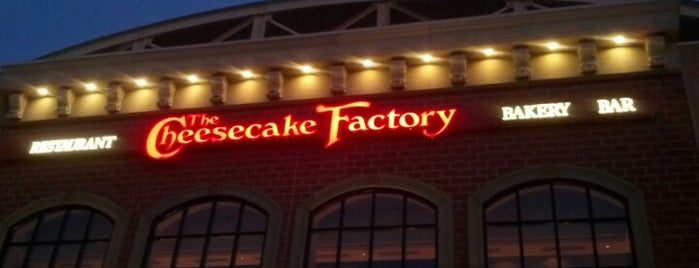 The Cheesecake Factory is one of Date Night!.