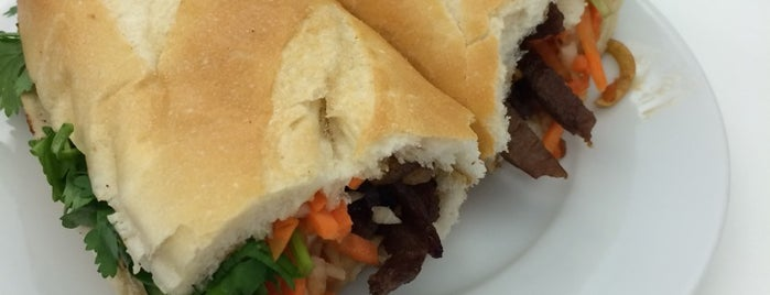 Luu's Baguette is one of NYC casual eats.