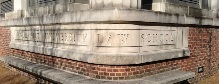 Vanderbilt Law School is one of Top 10 favorites places in Nashville, TN.