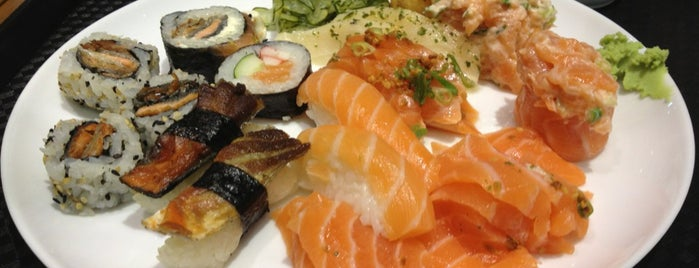 Haru Temakeria e Sushi is one of Santos Japonesa.