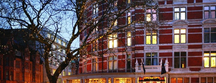 The Connaught is one of Favourite Hotels.