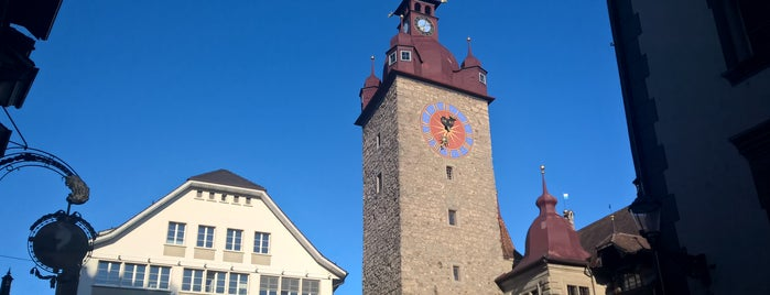 Kornmarkt is one of Lozärner Fasnacht 2012.