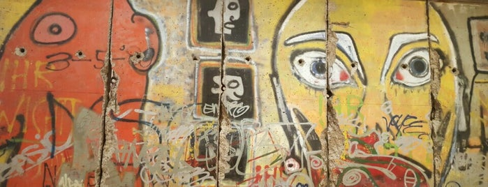 Berlin Wall Remains (53rd St Plaza) is one of Strange Places and Oddities in NYC.