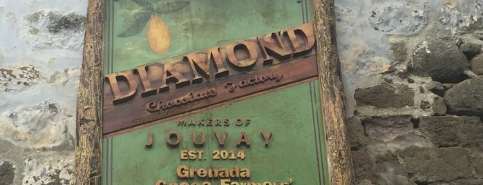 Belmont Chocolate Factory is one of Grenada.