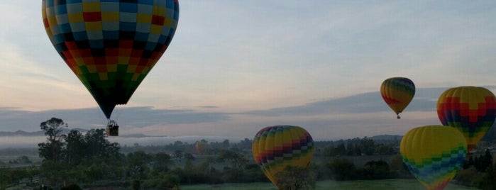Balloons Above The Valley is one of The Ultimate Guide to Getting Lost.