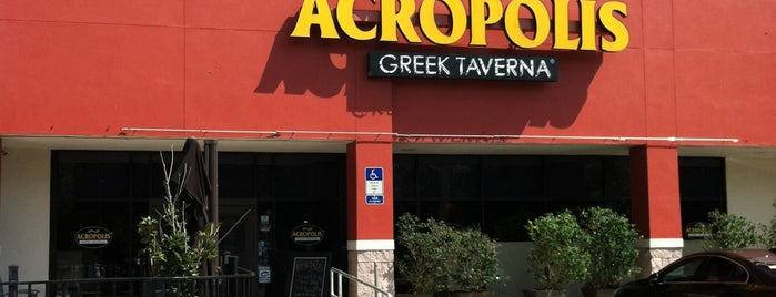Acropolis Greek Taverna is one of 20 favorite restaurants & coffee shops.