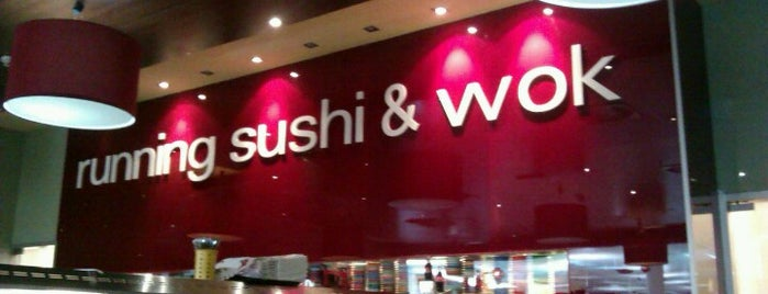 Running Sushi & Wok is one of Mladina Konzum 1-3.