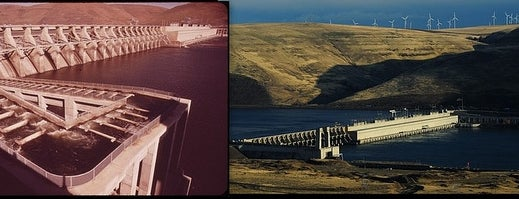 John Day Dam is one of Documerica.
