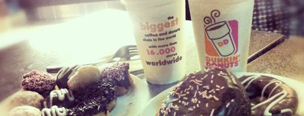 Dunkin' Donuts is one of Favorite Food.