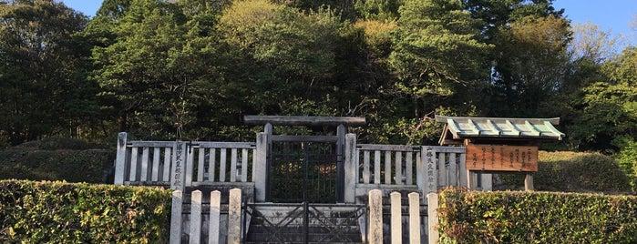 一條天皇 圓融寺北陵 is one of 天皇陵.