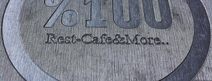 %100 Rest Cafe & More is one of İzmir.