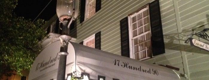 17Hundred90 Inn & Restaurant is one of Best Restaurants.
