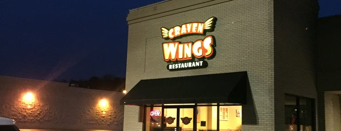 Craven Wings is one of places.