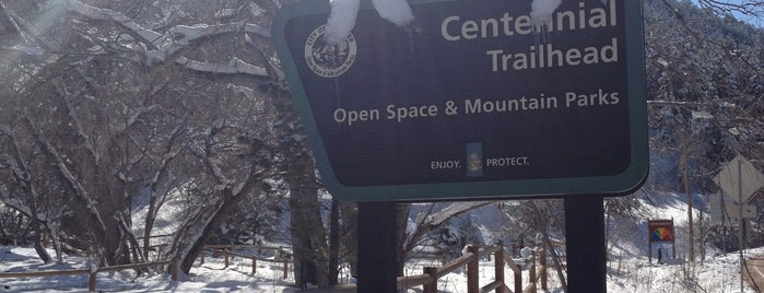 Centennial Trailhead is one of Boulder Area Trailheads #visitUS.