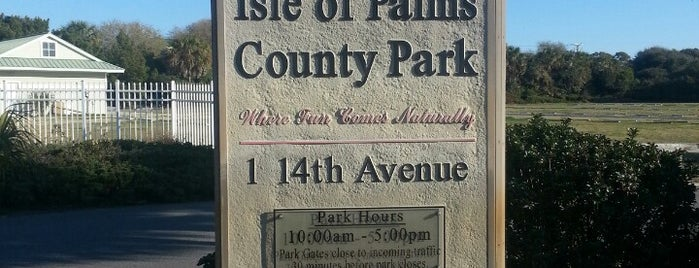 Isle Of Palms County Park is one of Places in the Lowcountry to take my nephew.