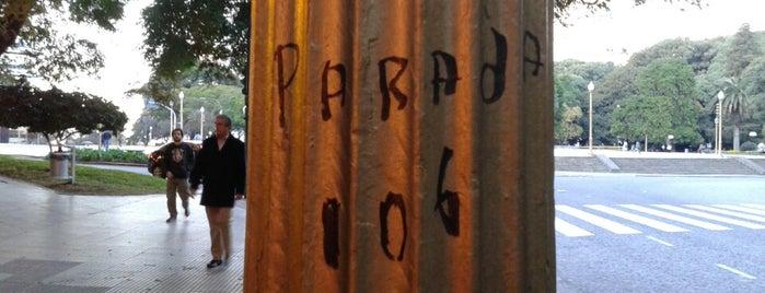 Parada 106 is one of Colectivo: Línea 106.