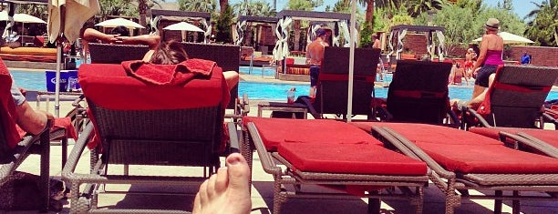 Main Pool at M Resort is one of Vegas.