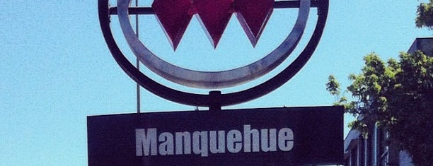 Metro Manquehue is one of Chile.