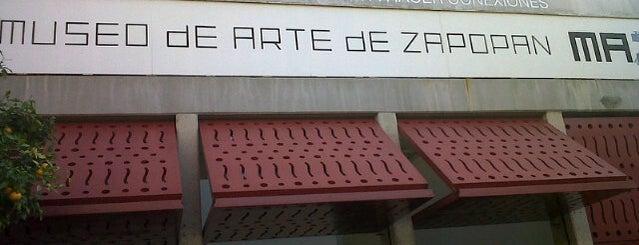 Museo de Arte de Zapopan (MAZ) is one of skatepark.