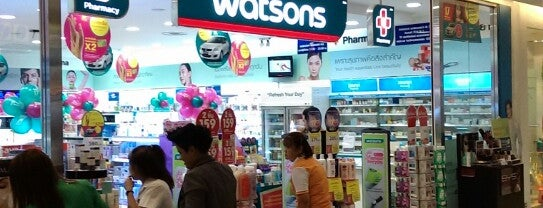 Watsons (วัตสัน) is one of All-time favorites in Thailand.