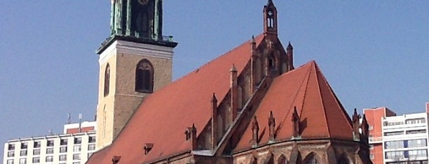 Marienkirche is one of Schlüter in Berlin.