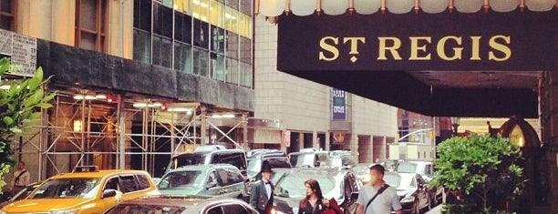 The St. Regis New York is one of New York New York.