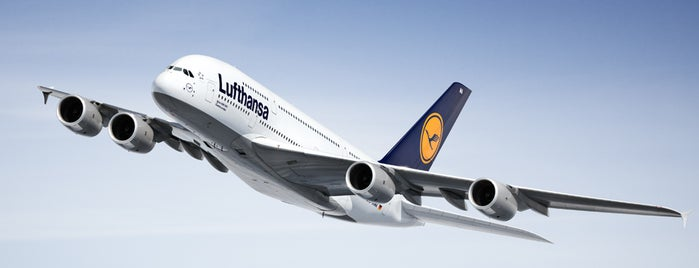 Lufthansa Flight LH 711 is one of The Lufthansa A380 flights.