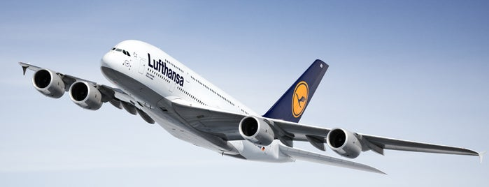 Lufthansa Flight LH 401 is one of The Lufthansa A380 flights.