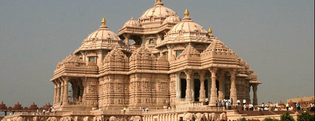 Swaminarayan Akshardham is one of Our India Trip 2012.