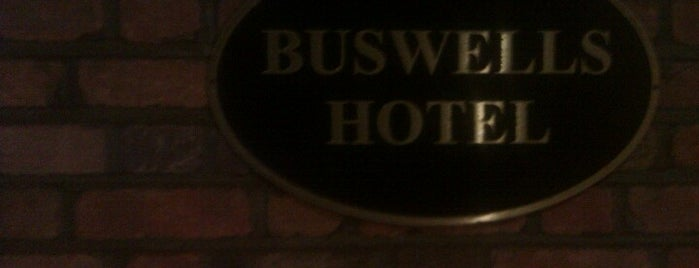 Buswells Hotel is one of Dublin.