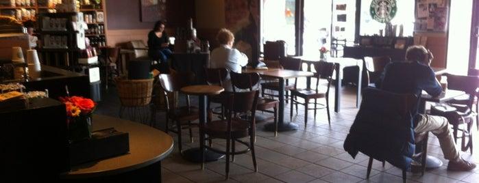 Starbucks is one of Lancaster.