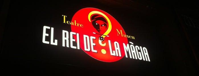 Teatre El Rey de la Magia is one of Espectáculos.