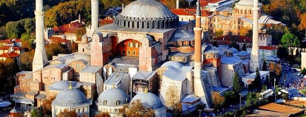 Hagia Sophia is one of Dream Destinations.