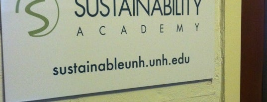 UNH Sustainability Institute is one of UNH Sustainability.