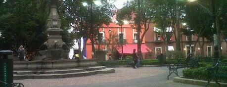 Jardín Hidalgo is one of Mis lugares en México DF.