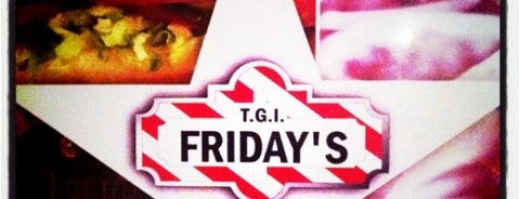 T.G.I. Friday's is one of 20 favorite restaurants.