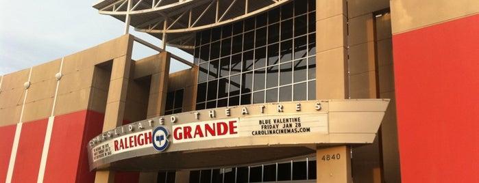 Carolina Cinemas Raleigh Grande 16 is one of Must-visit Arts & Entertainment in Raleigh.