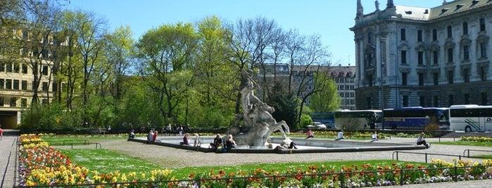 Alter Botanischer Garten is one of Anschauen in München.