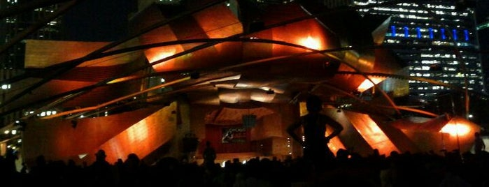 Jay Pritzker Pavilion is one of Music Venues.