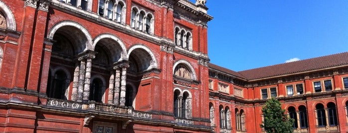 Victoria and Albert Museum (V&A) is one of London as a local.