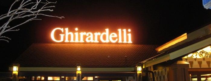 Ghirardelli Soda Fountain & Chocolate Shop is one of Downtown Disney.