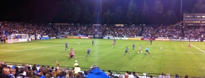Buck Shaw Stadium is one of การแข่งขันฟุตบอลนัดสำคัญ.