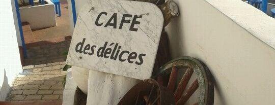 Café Des Délices is one of Tunis City Badge - Bab el Bahr.