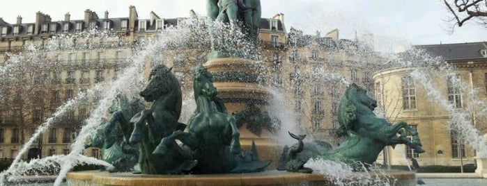 Luxembourg Garden is one of World Sites.