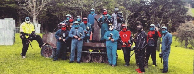 Red Alert Paintball Games is one of Fun Group Activites around New Zealand.